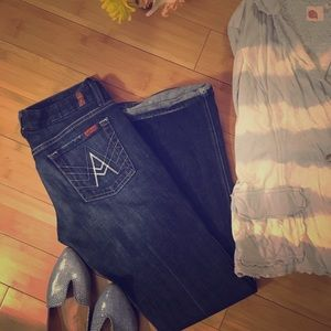 """Seven For All Mankind Classic """"A"""" Pocket Jeans"""